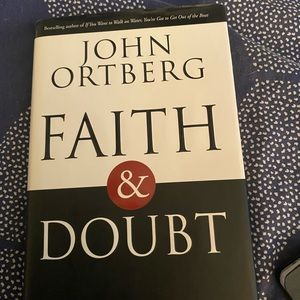 """NWOT book by John Ortberg """"Faith and Doubt"""""""